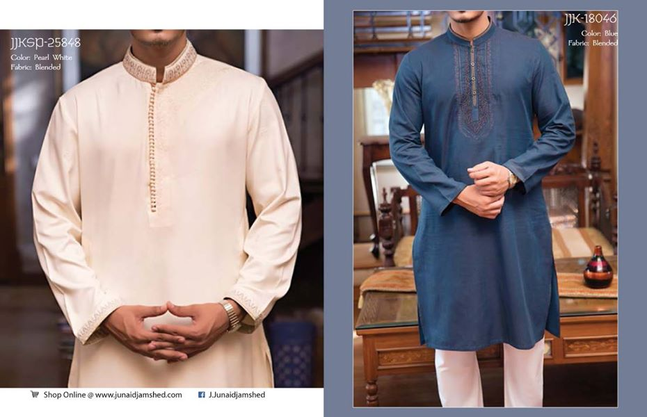 J. Eid Kurta Shalwar Kameez Collection for Men & Boys 2015-2016 (17)