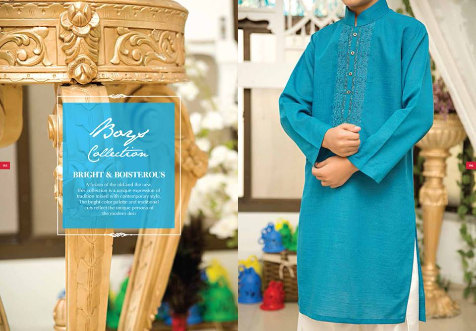 J. Eid Kurta Shalwar Kameez Collection for Men & Boys 2015-2016 (2)