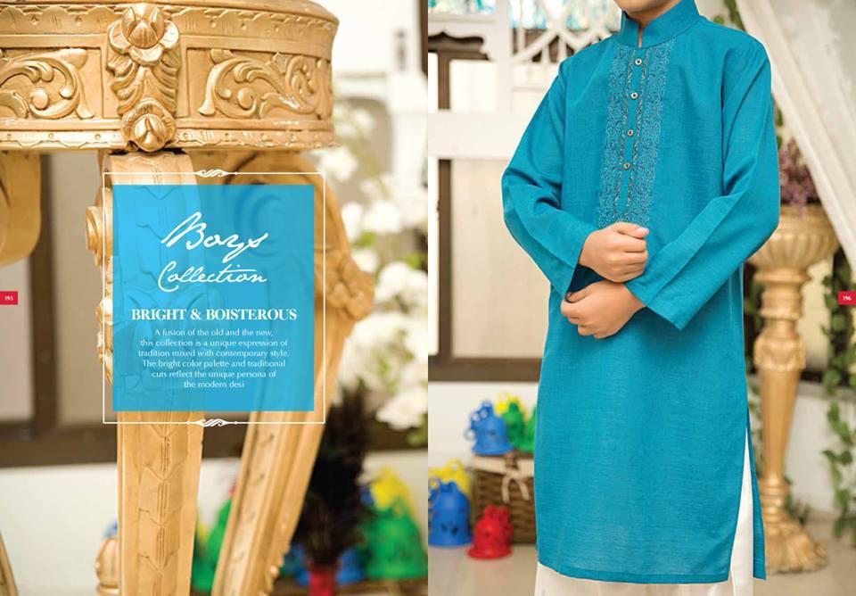 J. Eid Kurta Shalwar Kameez Collection for Men & Boys 2015-2016 (2)