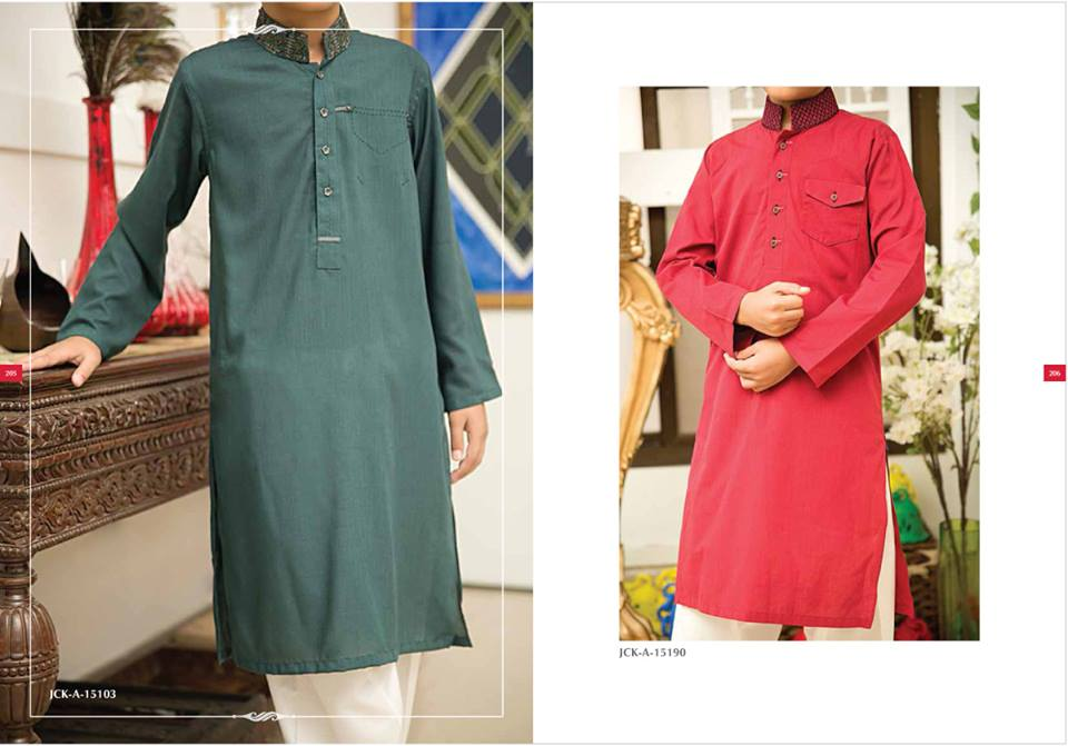 J. Eid Kurta Shalwar Kameez Collection for Men & Boys 2015-2016 (20)
