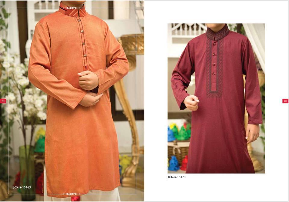 J. Eid Kurta Shalwar Kameez Collection for Men & Boys 2015-2016 (3)
