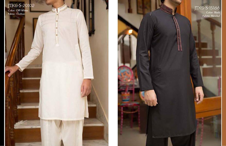 J. Eid Kurta Shalwar Kameez Collection for Men & Boys 2015-2016 (4)