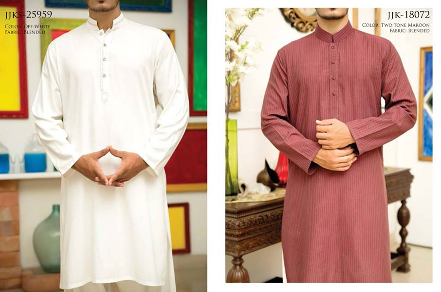 J. Eid Kurta Shalwar Kameez Collection for Men & Boys 2015-2016 (5)