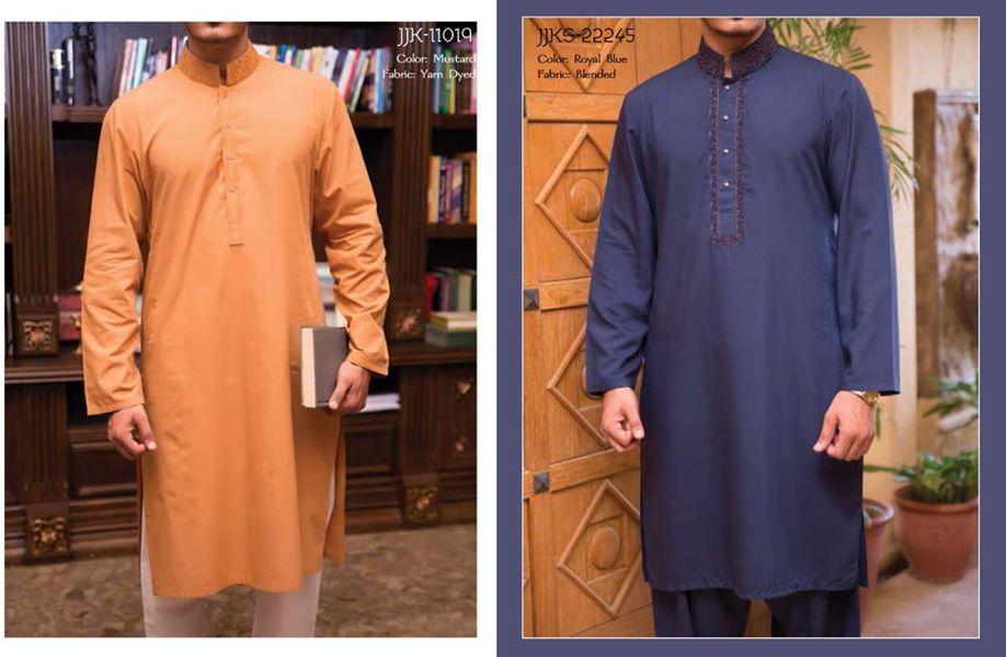 J. Eid Kurta Shalwar Kameez Collection for Men & Boys 2015-2016 (6)