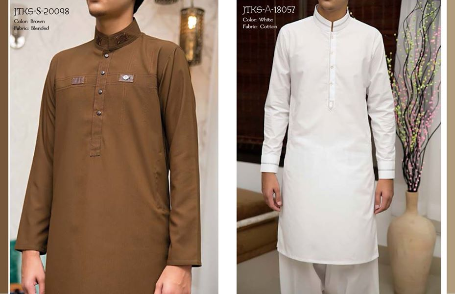 J. Eid Kurta Shalwar Kameez Collection for Men & Boys 2015-2016 (7)
