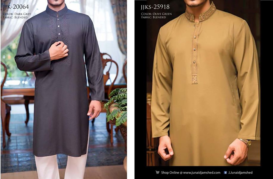 J. Eid Kurta Shalwar Kameez Collection for Men & Boys 2015-2016 (8)