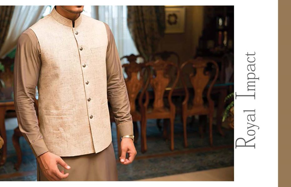 J. Eid Kurta Shalwar Kameez Collection for Men & Boys 2015-2016 (9)