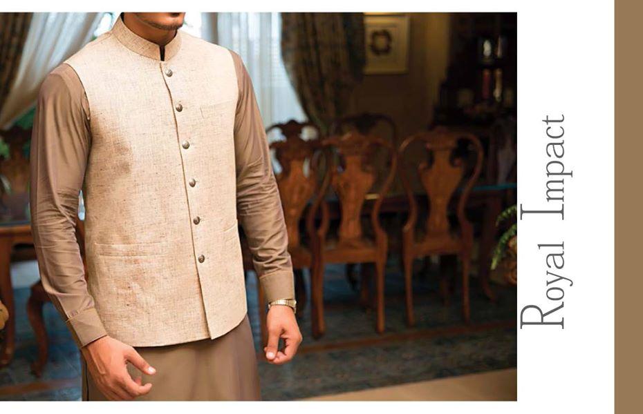 J. Eid Kurta Shalwar Kameez Collection for Men & Boys 2015-2016 (9)