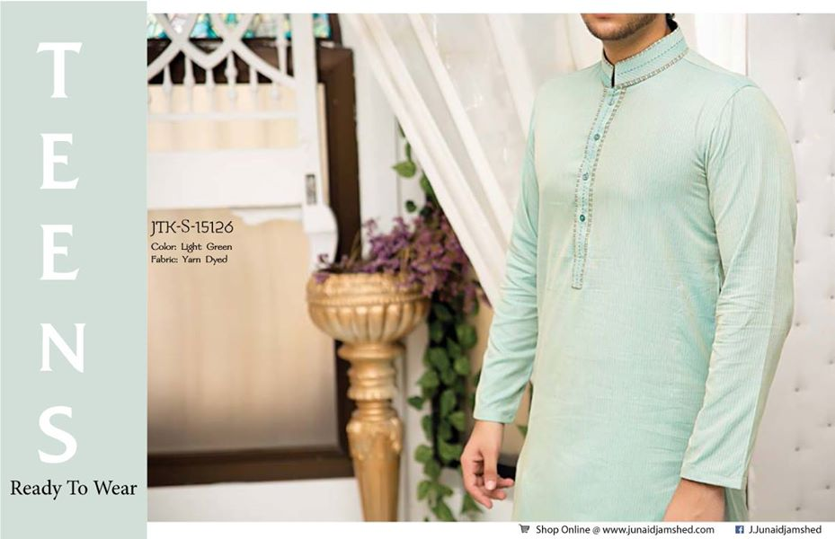 J. Eid Kurta Shalwar Kameez Collection for Men & Boys 2015-2016