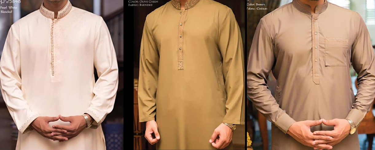 J. Eid Kurta Shalwar Kameez Collection for Men & Boys 2015