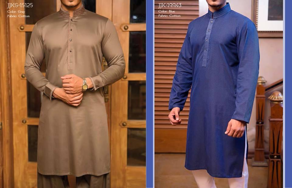 J. Juanid Jamshed Eid Kurta Shalwar Kameez Collection for Men & Boys 2015-2016 (1)