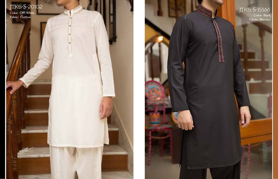 J. Juanid Jamshed Eid Kurta Shalwar Kameez Collection for Men & Boys 2015-2016 (12)