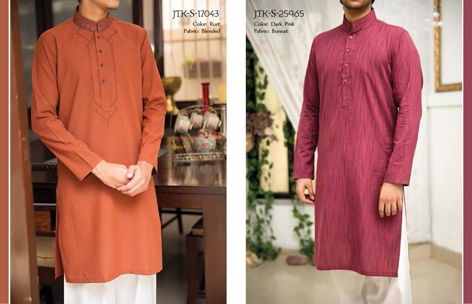 J. Juanid Jamshed Eid Kurta Shalwar Kameez Collection for Men & Boys 2015-2016 (2)