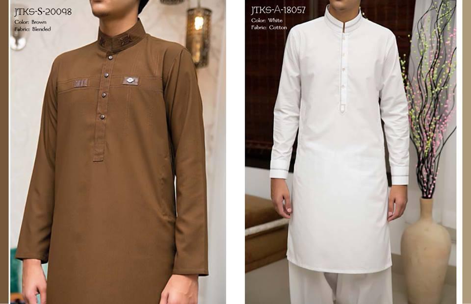 J. Juanid Jamshed Eid Kurta Shalwar Kameez Collection for Men & Boys 2015-2016 (3)