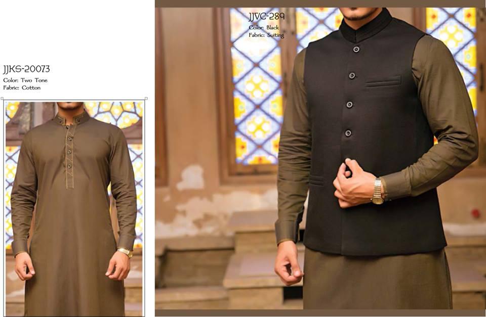 J. Juanid Jamshed Eid Kurta Shalwar Kameez Collection for Men & Boys 2015-2016 (5)