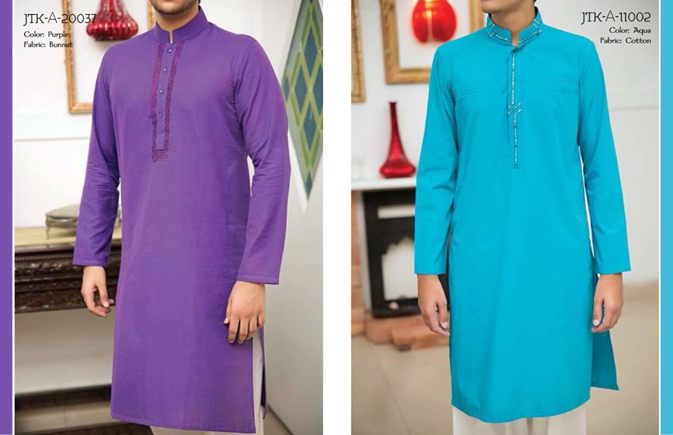 J. Juanid Jamshed Eid Kurta Shalwar Kameez Collection for Men & Boys 2015-2016 (8)