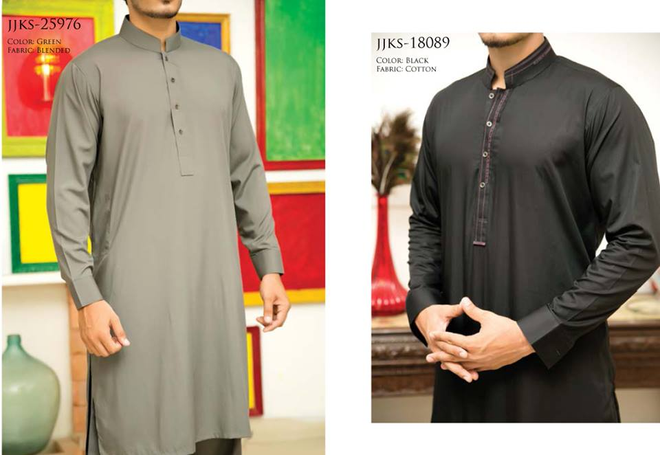 J. Juanid Jamshed Eid Kurta Shalwar Kameez Collection for Men & Boys 2015-2016 (9)