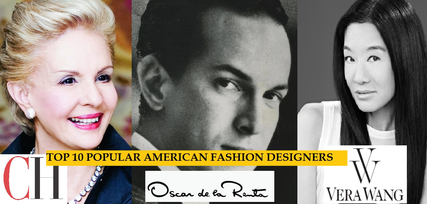List of Top 10 Most Popular american Fashion Designers