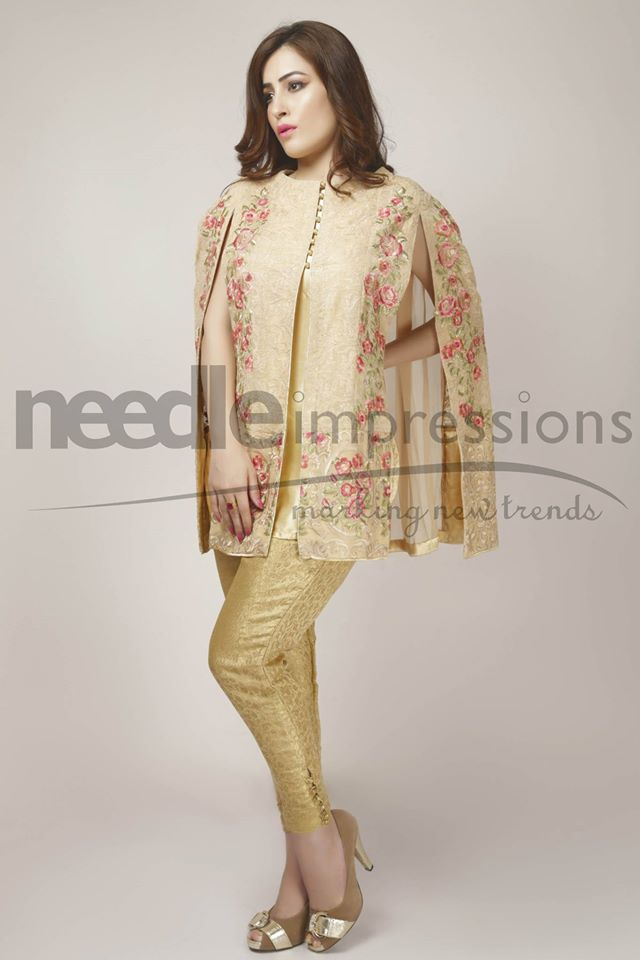 Needle Impressions Latest Fancy Embroidered Chiffon Dresses Collection 2016-2017 (25)