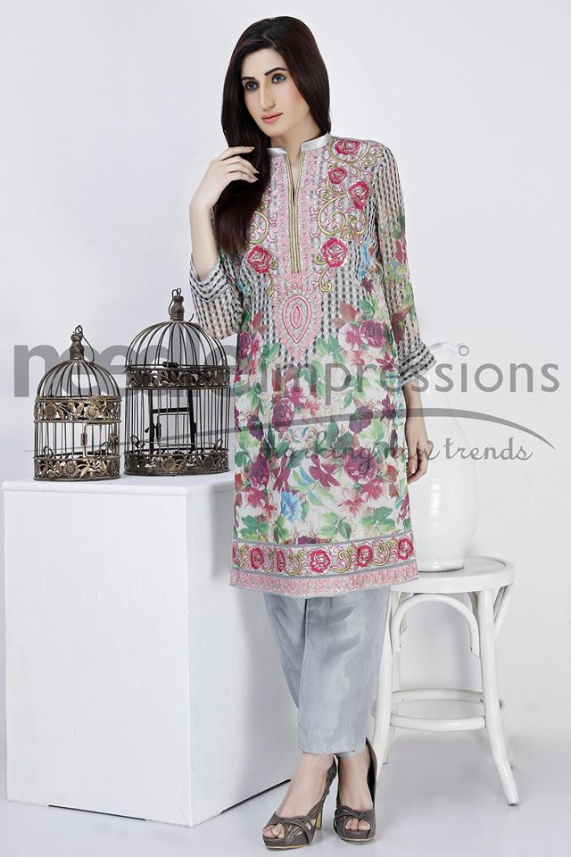 Needle Impressions Latest Fancy Embroidered Chiffon Dresses Collection 2016-2017 (4)