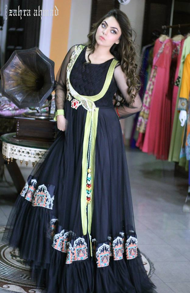 Party Wear Frocks & Gown Designs Latest Collection 2015-2016 (11)