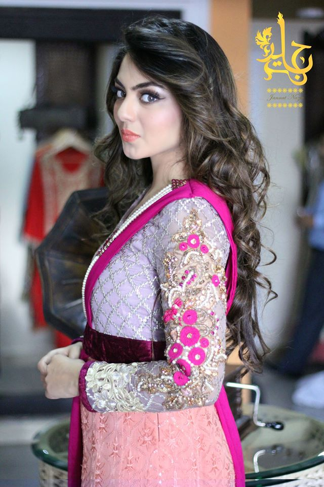 Party Wear Frocks & Gown Designs Latest Collection 2015-2016 (13)