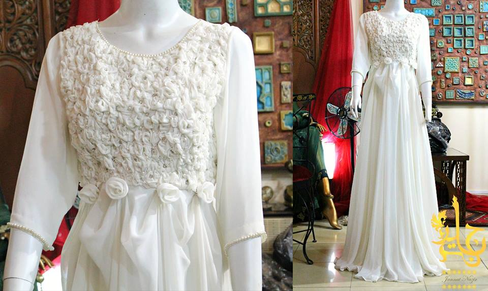 Party Wear Frocks & Gown Designs Latest Collection 2015-2016 (16)
