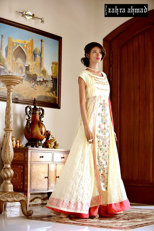 Party Wear Frocks & Gown Designs Latest Collection 2015-2016 (24)