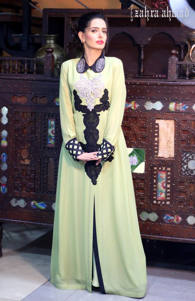 Party Wear Frocks & Gown Designs Latest Collection 2015-2016 (8)