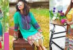 Zahra Ahmed Mystical Printed Shirts Tunics Collection 2015-16