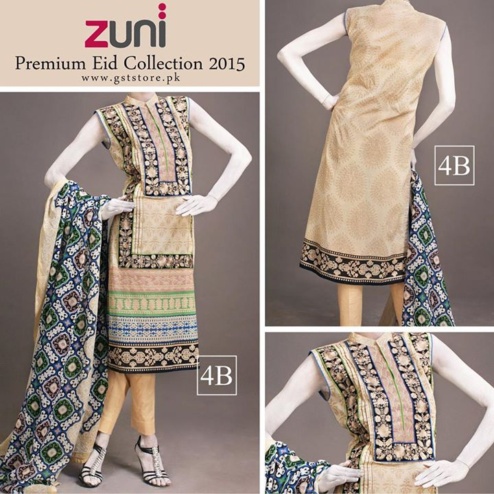 Zuni Printed Premium Lawn Suits Eid Collection 2015 by Amna Ismail (12)