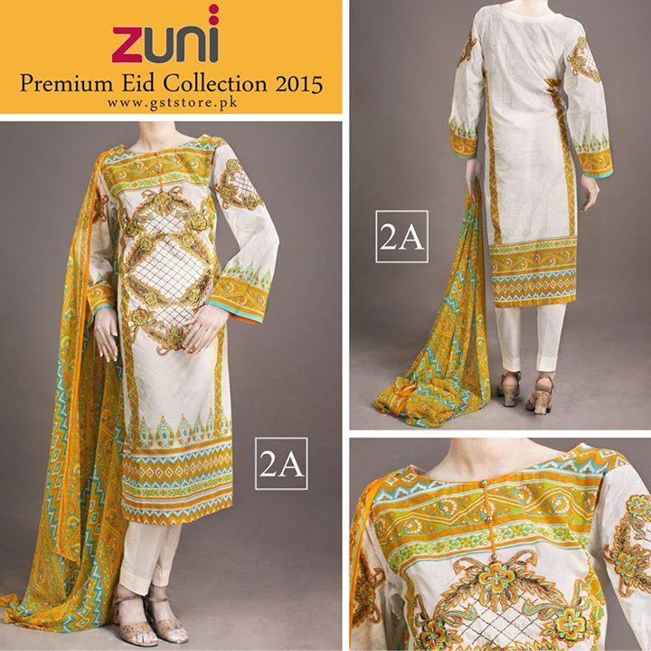Zuni Printed Premium Lawn Suits Eid Collection 2015 by Amna Ismail (16)