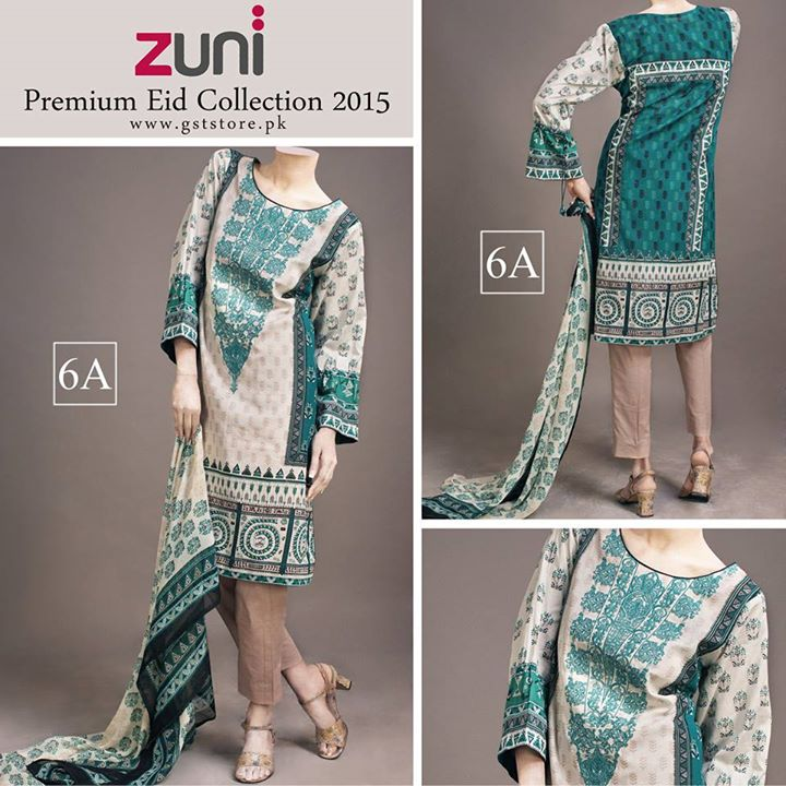 Zuni Printed Premium Lawn Suits Eid Collection 2015 by Amna Ismail (18)
