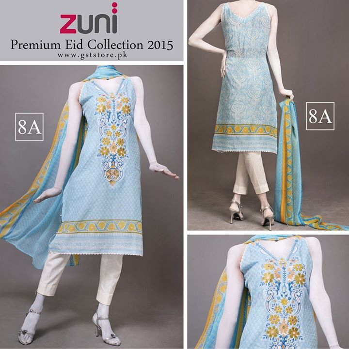 Zuni Printed Premium Lawn Suits Eid Collection 2015 by Amna Ismail (6)