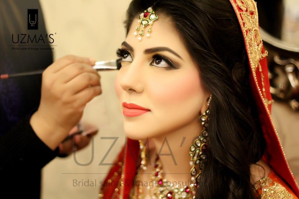 Uzma S Mehndi Makeup : Uzma s hair beauty salon lahore address contacts reviews
