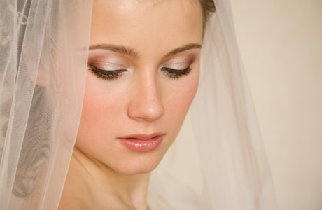 Wedding makeup pale skin