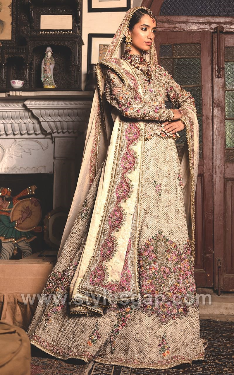 Fahad Hussayn Latest Pakistani Designer Bridal Dresses