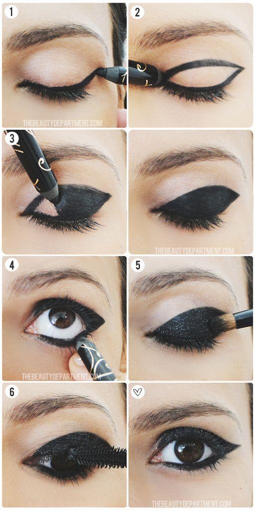 60's Eyeliner styles tutorial