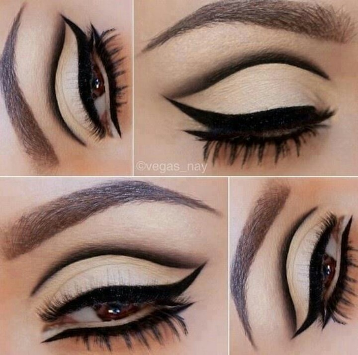 top 7 best eyeliner styles shapes to make eyes bigger. Black Bedroom Furniture Sets. Home Design Ideas