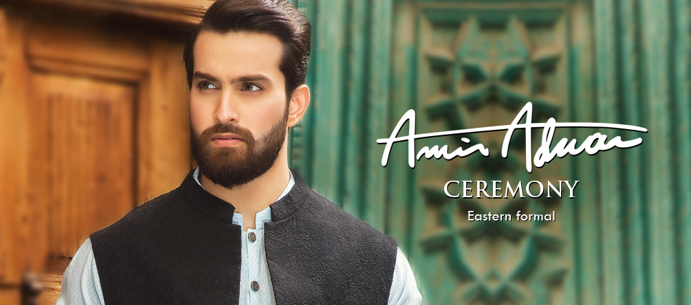 Amir Adnan Men Ceremony Kurtas & Waist Coat Collection