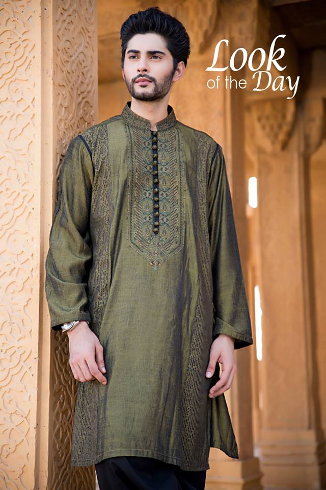 23b12dbf2b Amir Adnan Men Ceremony Kurtas Waist Coat Collection 2018-2019