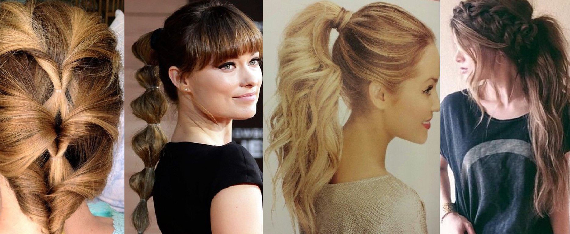 all types of haircuts best ponytail hairstyles for all hair types 2691