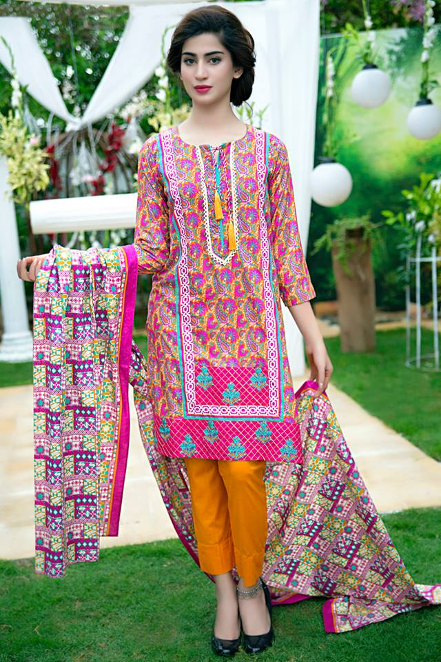Bonanza Midsummer Season Dresses Collection for Women 2015-2016 (10)