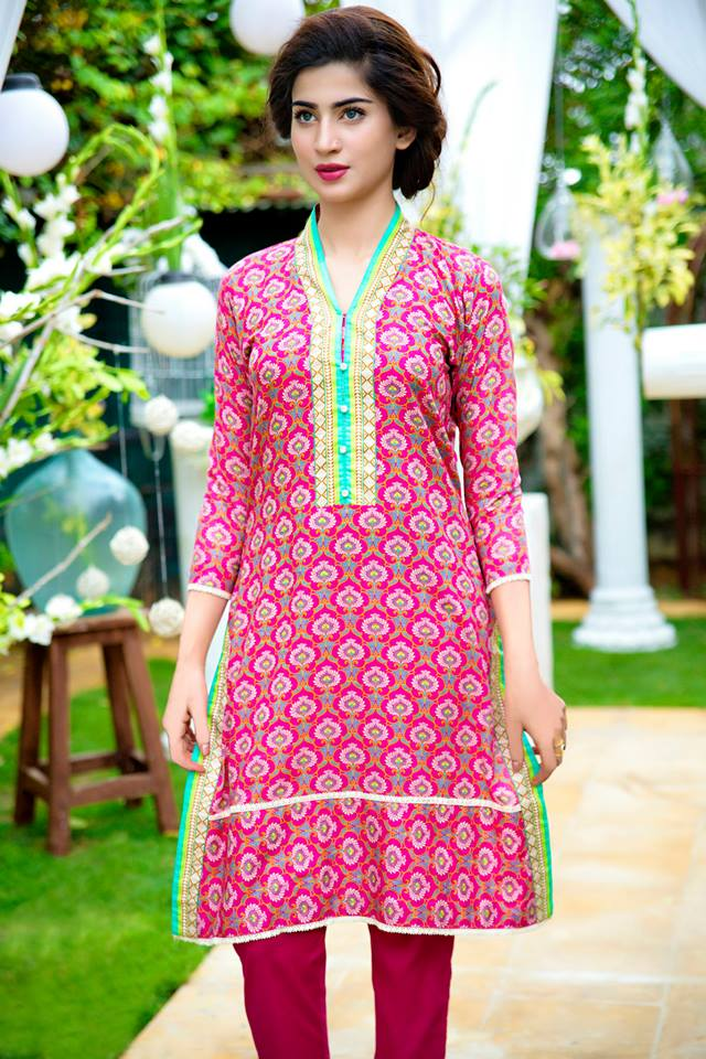 Bonanza Midsummer Season Dresses Collection for Women 2015-2016 (12)