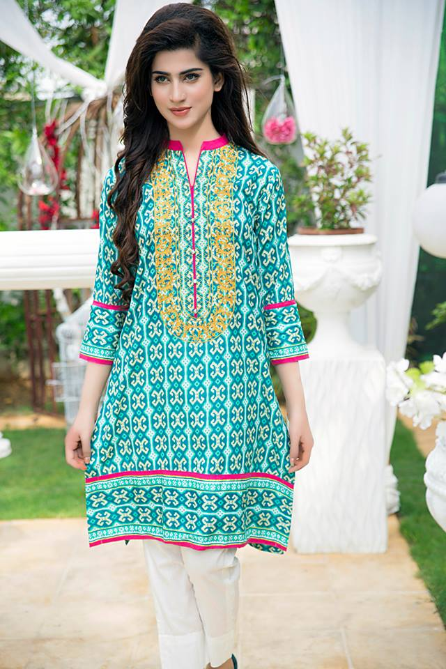 Bonanza Midsummer Season Dresses Collection for Women 2015-2016 (14)