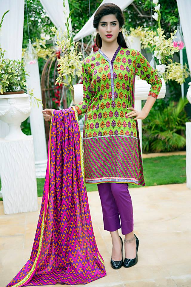 Bonanza Midsummer Season Dresses Collection for Women 2015-2016 (3)