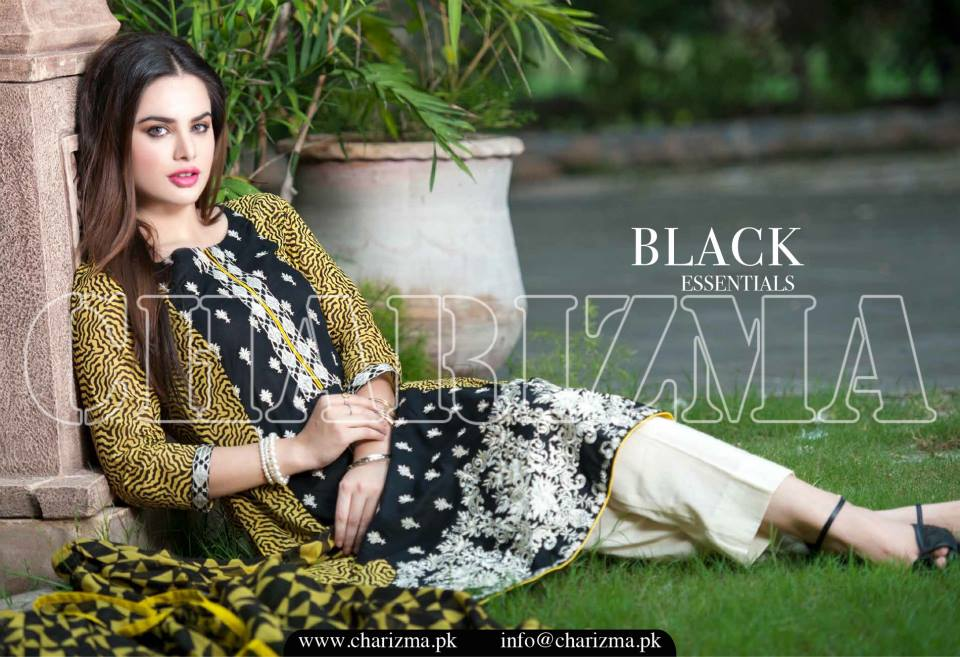 Charizma Luxury Embroidered Lawn Dresses Collection 2015 (21)