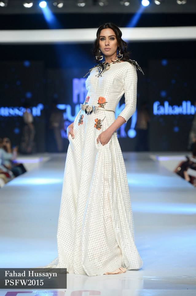 Fahad Hussayn at Sunsilk fashion week psfw 2015-2016 (2)