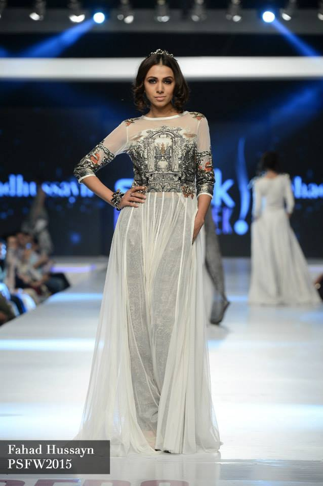 Fahad Hussayn at Sunsilk fashion week psfw 2015-2016 (3)