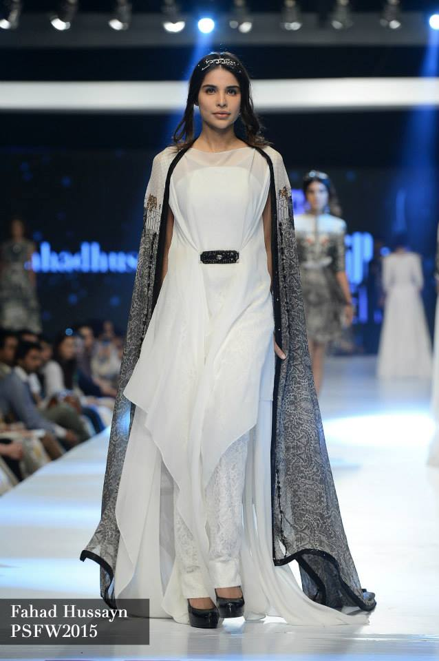 Fahad Hussayn at Sunsilk fashion week psfw 2015-2016 (4)